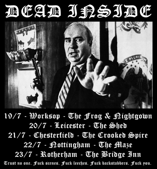Dead Inside Announce Tour